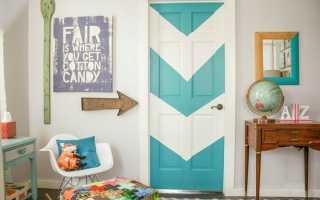 Декор дверей своими руками оформление украшение — Только ремонт своими руками в квартире: фото, видео, инструкции