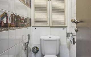 Туалет в хрущевке: дизайн и ремонт, фото идеи обустройства