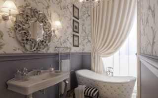 Дизайн в ванной в классическом стиле: правильное оформление (+40 фото)