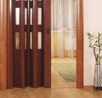 Дверь гармошка своими руками (фото и видео)