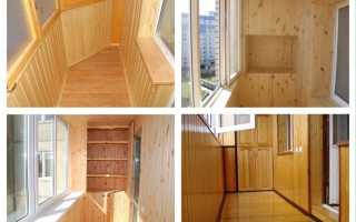 Как зашить балкон вагонкой?