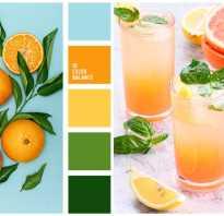 Оранжевый цвет в интерьере. фото