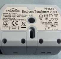 Подключение галогенных ламп на 12 вольт через трансформатор