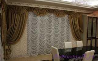 Французские шторы своими руками: выбор ткани и пошив