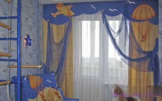 Шторы в детскую своими руками: тонкости пошива и советы по выбору ткани[Шторы