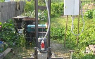 Бурильная установка для скважин воды своими руками — Отопление
