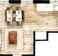 Принципы переноса кухни в гостиную