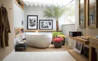 Цветы для ванной комнаты – преображаем интерьер