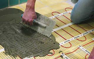 Укладка электрического теплого пола под плитку своими руками — тонкости процесса!