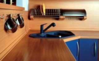 Замена столешницы на кухне своими руками — как поменять столешницу