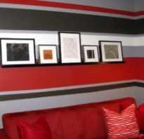 Покраска стен двумя цветами в квартире: варианты комбинирования (42 фото)