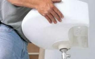Как установить пьедестал для умывальника, монтаж угловой раковины легко