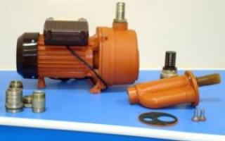 Насос Агидель М и 10: инструкция, характеристики, ремонт