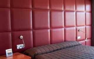 Мягкие стены в интерьере своими руками: обшивка, капитоне, панели