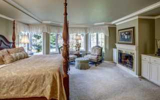 Дизайн спальни в английском стиле: особенности, фото