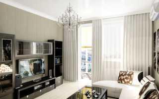 Оформление дизайна гостиной спальни в хрущевке