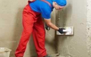 Штукатурка стен цементным раствором своими руками: пошаговая видео инструкция