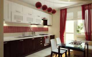 Что же повесить на кухню: а может быть ленточные шторы?