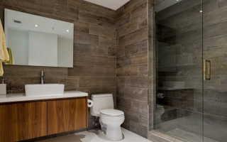 Дизайн ванной комнаты под дерево — создание дизайна под дерево ( фото)
