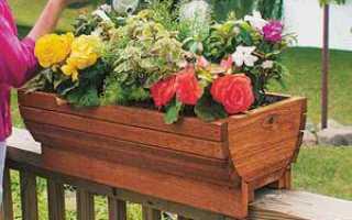 Как выбрать и разместить балконный ящик для цветов (+самодельные горшки)