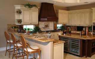 Высота столешницы на кухне от пола: стандарт