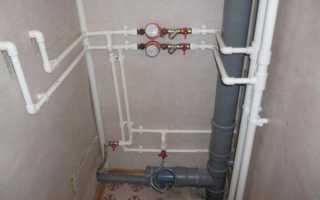 Монтаж водопровода из полипропиленовых труб — Отопление