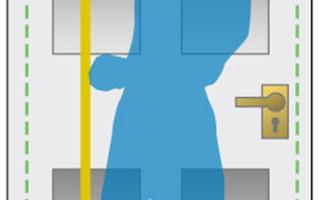 Замер, монтаж и установка межкомнатных и входных дверей