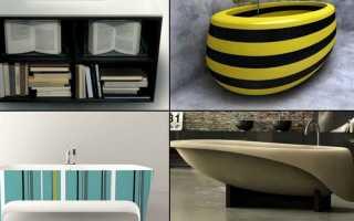 Топ-10 дизайнерских ванн – смотрите и удивляйтесь