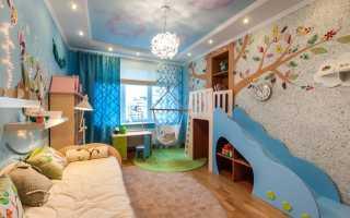 Декор стен в детской комнате: выбор отделочного материала и цветового решения (+42 фото)