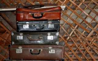 Декупаж старого чемодана: красивое украшение интерьера