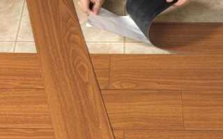 Как произвести укладку винилового ламината самостоятельно