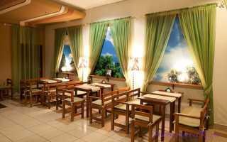 Шторы для кафе и ресторана: секреты правильного выбора