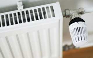 Как установить терморегулятор на батарею — схема установки