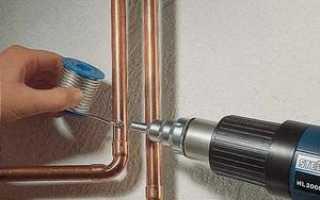 Пайка медных труб: пошаговый разбор работ практические примеры — Superfb