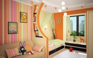 Как обставить детскую комнату: интерьер и мебель
