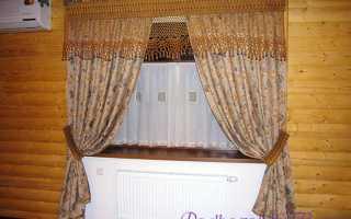 Как сшить шторы и гардины в стиле кантри своими руками