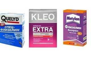 Клей для флизелиновых обоев: как выбрать качественный состав