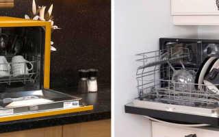 Настольные посудомоечные машины: рейтинг ТОП-10 моделей правила выбора
