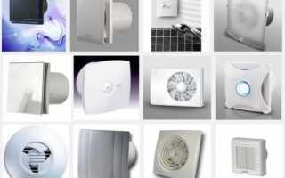 Вытяжка для ванной комнаты и туалета — бесшумная и принудительная