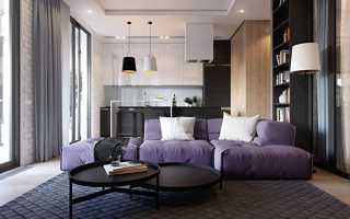 Кухня-гостиная в квартире от goldfish-interiors