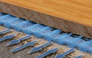 Что кладут под ламинат: искусственные и природные материалы