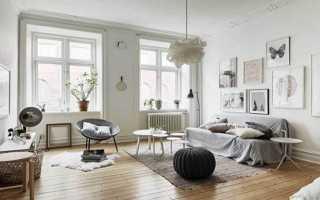 Гостиная в скандинавском стиле — 90 фото лучших идей стильного оформления
