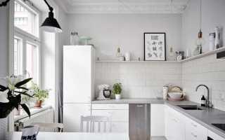 Кухня скандинавский стиль интерьера: подбор предметов (45 фото)