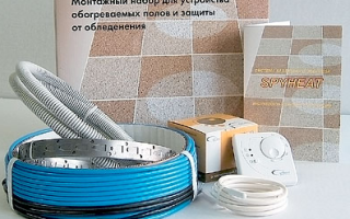 Как сделать теплый пол в ванной комнате: технология монтажа своими руками