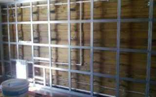 Обрешетка под гипсокартон стены деревянного дома: как сделать