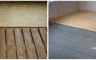 Укладка ОСБ на деревянный пол — видео и как правильно крепить