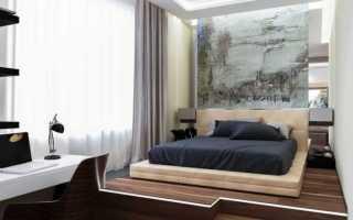 Как совместить гостиную и спальню? фото дизайна интерьера совмещенных комнат