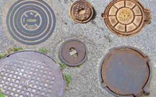 Люки: Разновидности и классификация канализационных люков, их преимущества и недостатки