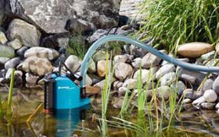 Дренажный насос для полива огорода из пруда и бочки — основные характеристики и стоимость агрегата