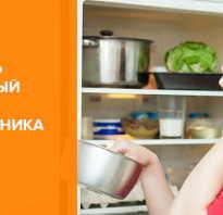 Как быстро избавиться от неприятного запаха в холодильнике